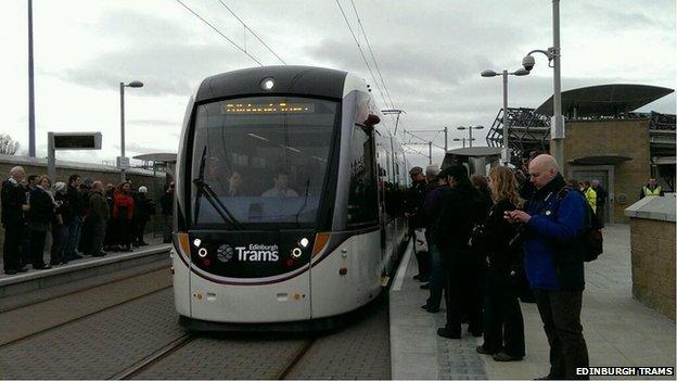 Test in corso per la nuova rete di tram