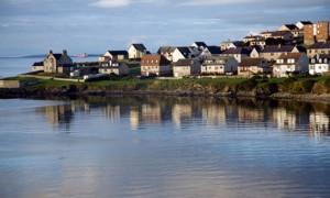 Veduta delle Shetland