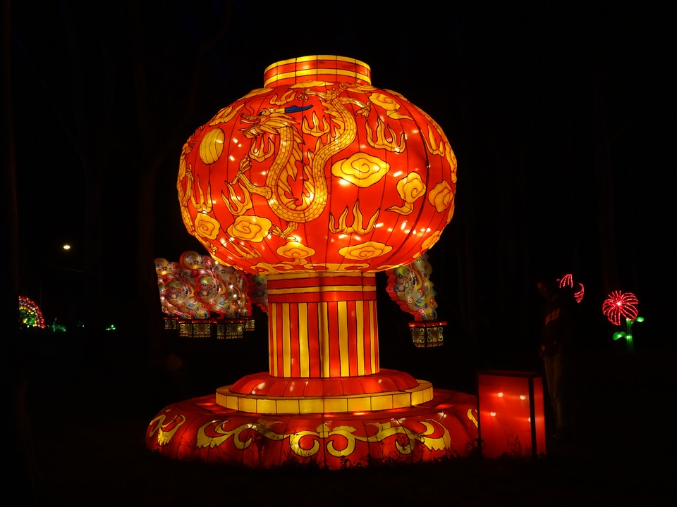 giant lantern of china