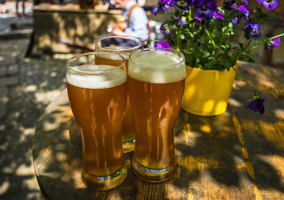 beer gardens